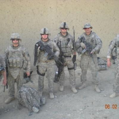 Afghan patrol