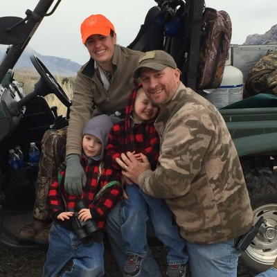 French Family hunting WY 2015
