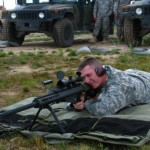 Frenchy on Barret M107 50cal training